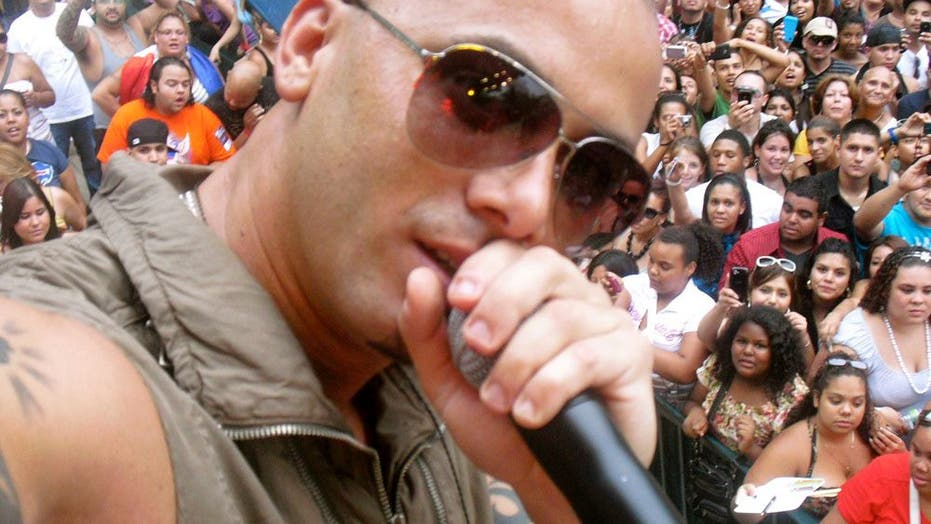 Wisin Y Yandel Live at Central Park in NYC!