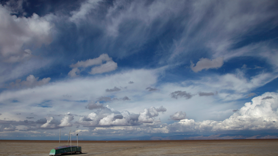 Bolivia's Lake Poopo has all but disappeared