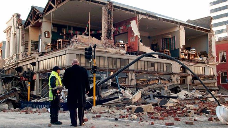 Magnitude 7.1 Earthquake Rocks New Zealand