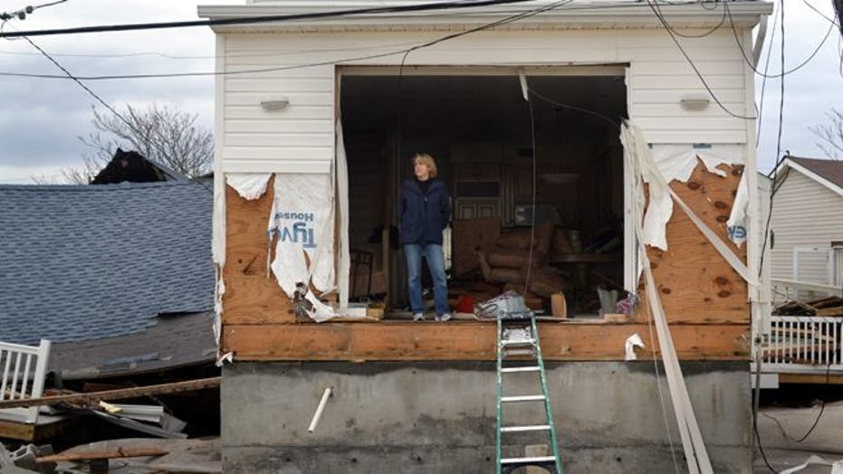 Hurricane Sandy Leaves Path of Destruction in Queens