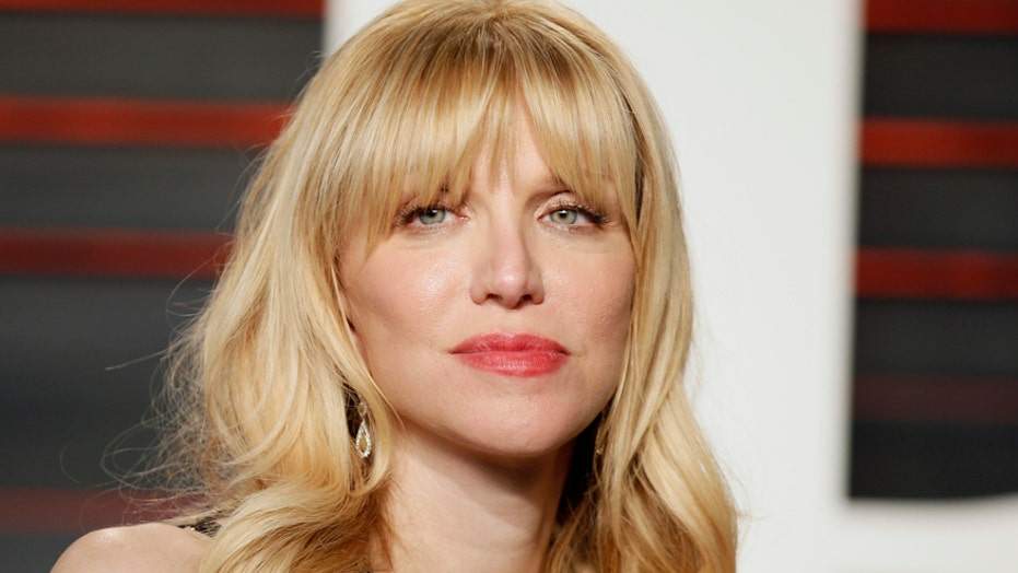 Courtney Love accuses Olivia Rodrigo of copying her band's album cover