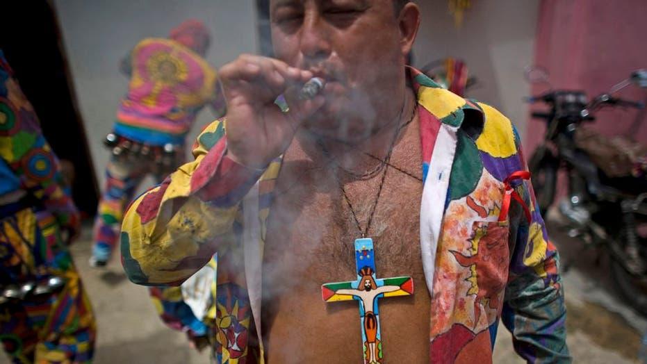 "Venezuela's ""Devil Dancing"" Festival"