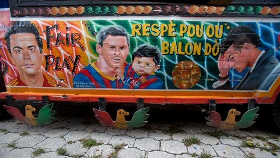 Haiti Celebrates The World Cup With Colorful Paintings