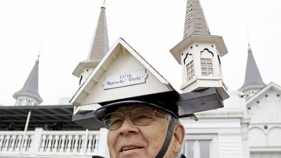 Outrageous men's Kentucky Derby hats