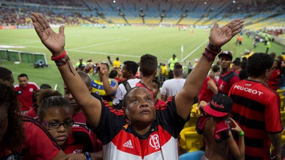 Brazil's Flamengo Soccer Club's Biggest Supporter
