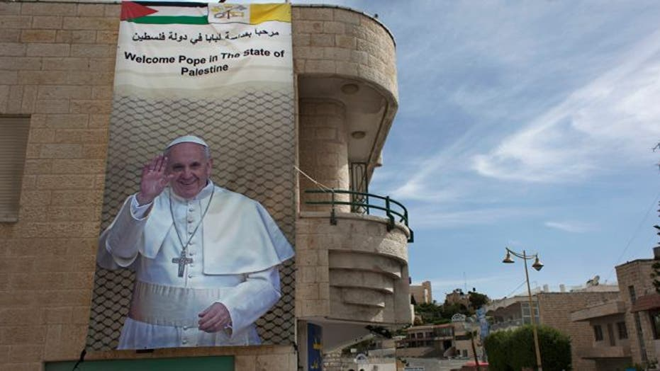 Pope Francis Makes Trip To The Holy Land