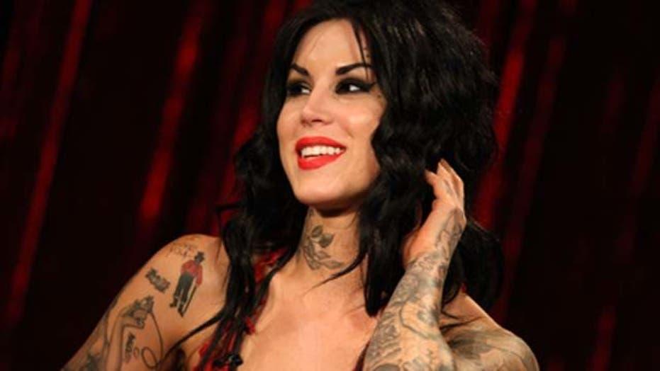 Kat Von D's Sexy Tattoos