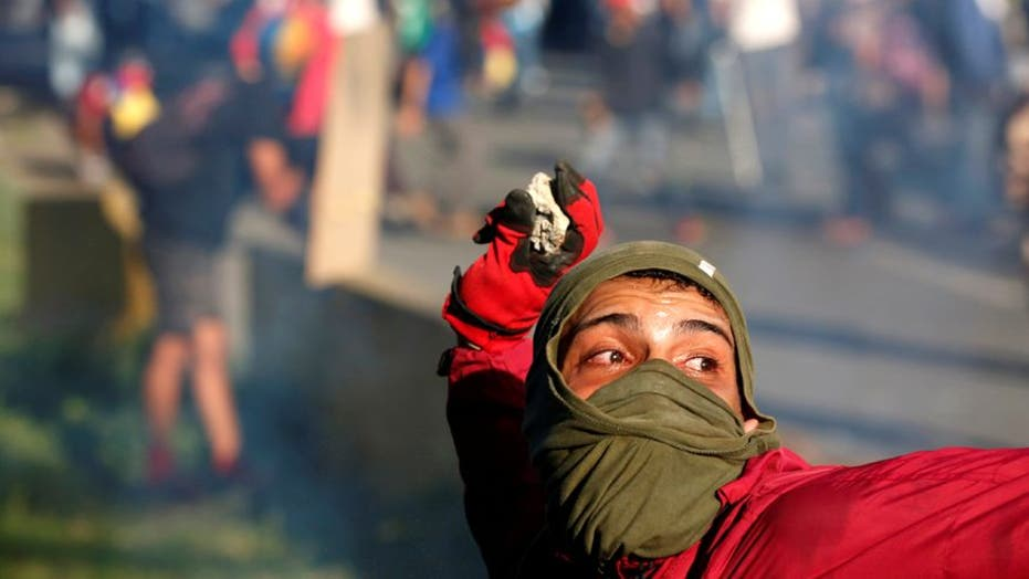 Demonstrators continue to take to the streets of Venezuela in their fight against Maduro