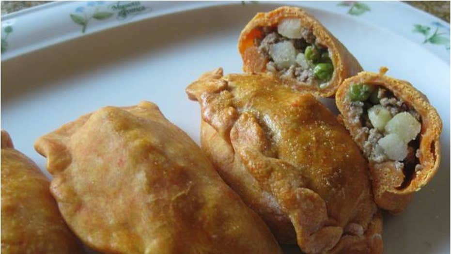 Bolivian Empanadas or Salteñas