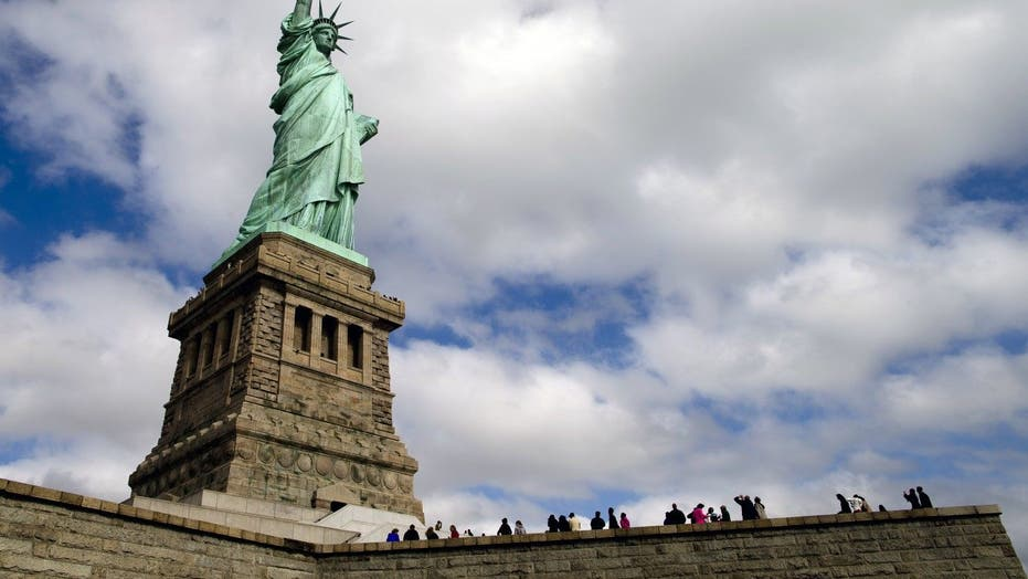 Lady Liberty celebrates 130 years on US soil