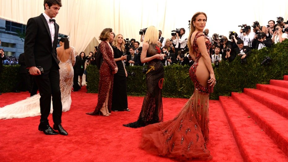 East meets West, fashionably, at NYC's Met Gala