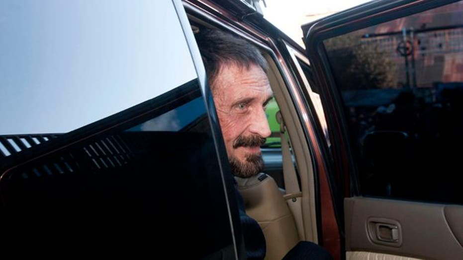 The hunt for John McAfee