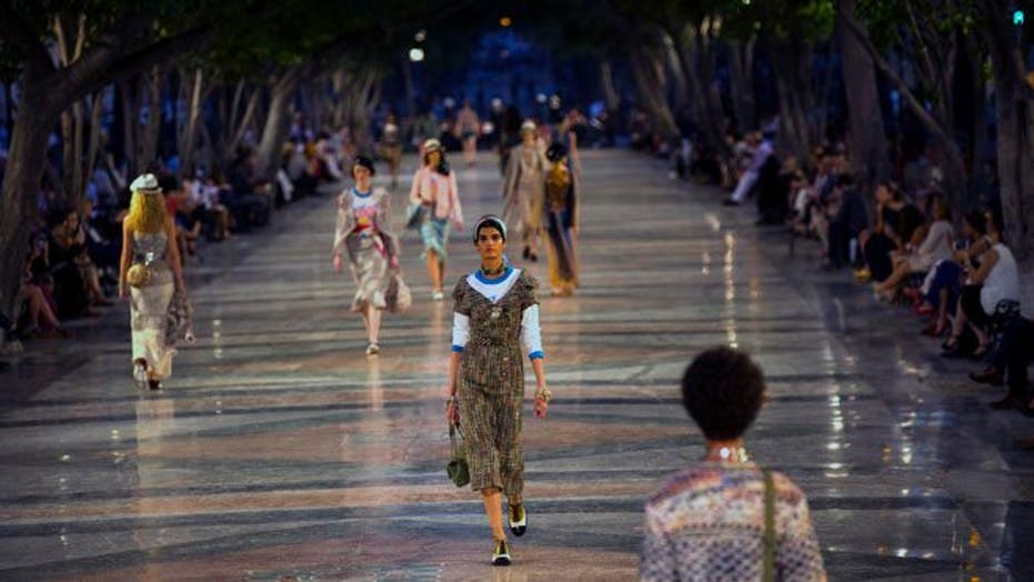 Chanel wows in the streets of Havana