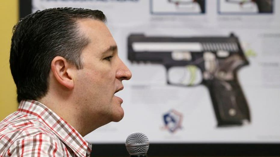 A photographer, a candidate, a controversy: Ted Cruz makes campaign stop at shooting range