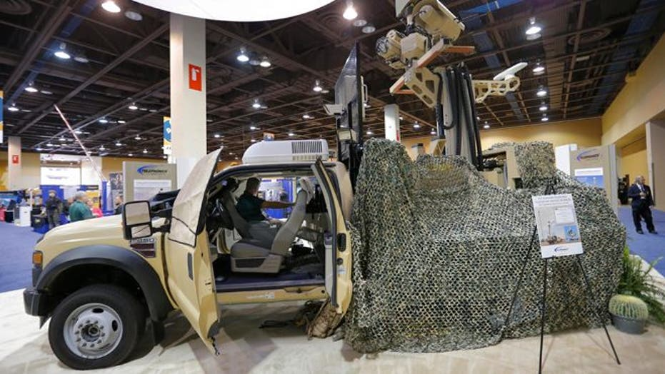 Big Business On The Border As Expo Showcases High-Tech Gadgets