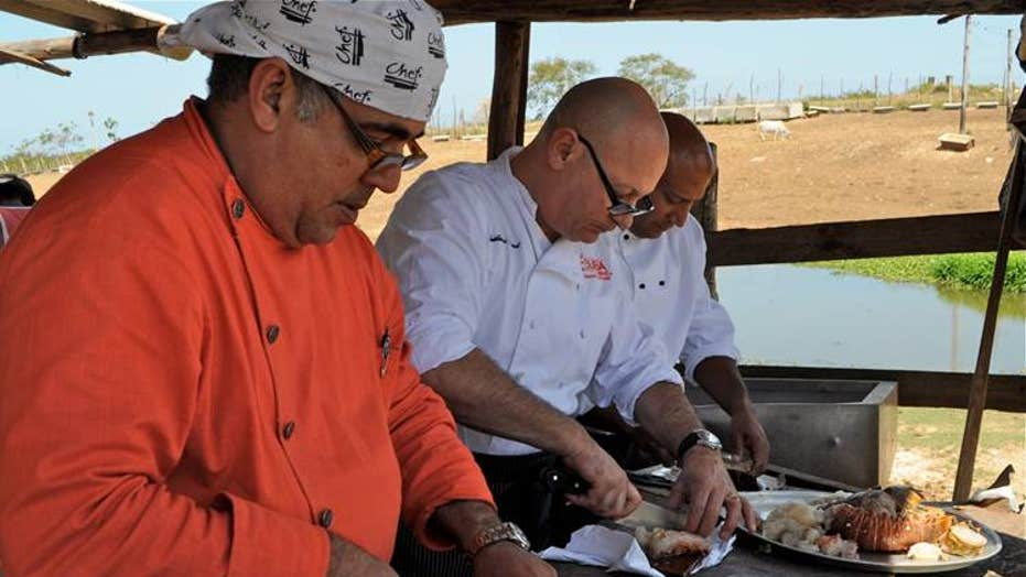 Sizzling Latino Chef: Guillermo Pernot