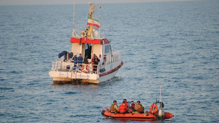 Second Rescue of Iranians Stranded at Sea Made by U.S. Navy