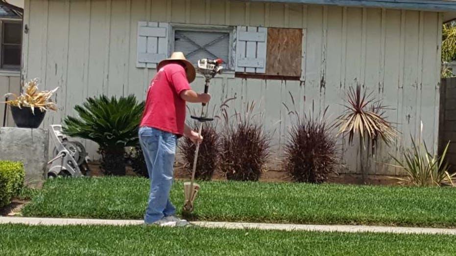 California drought crippling gardening jobs