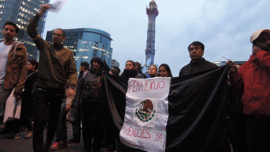 Mexican president's silence on 43 missing students stirs anger