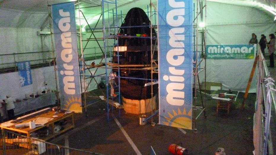 World's Largest Pure Chocolate Easter Egg