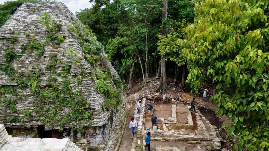 Archaeologists discover 2,000-year-old Mayan palace in Mexico
