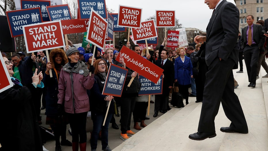Unions brace for fallout from SCOTUS's Janus decision