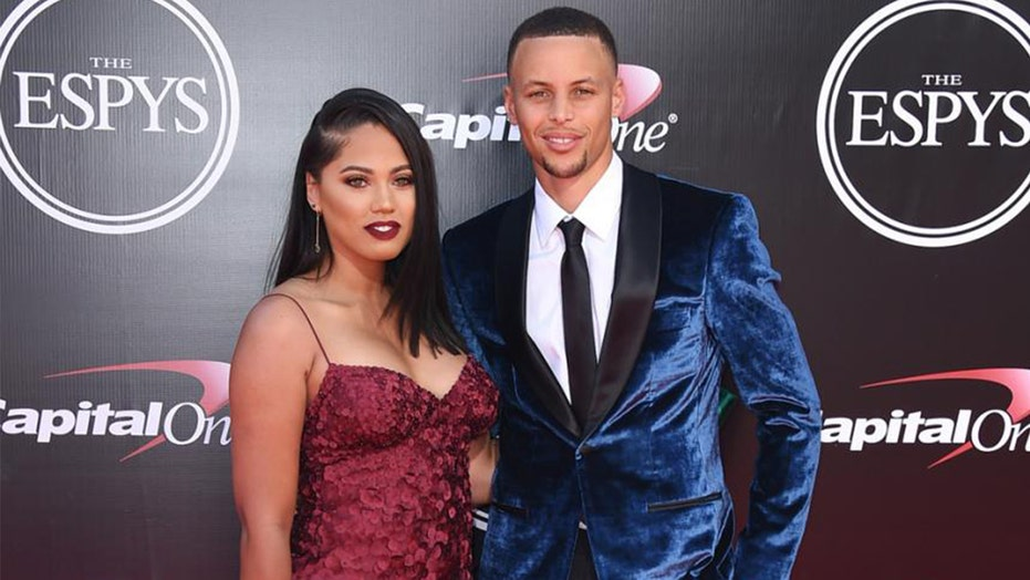 Social media takes aim at Steph Curry's wife over racy photo; she responds