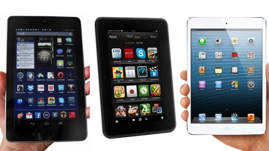 The best tablets of 2012