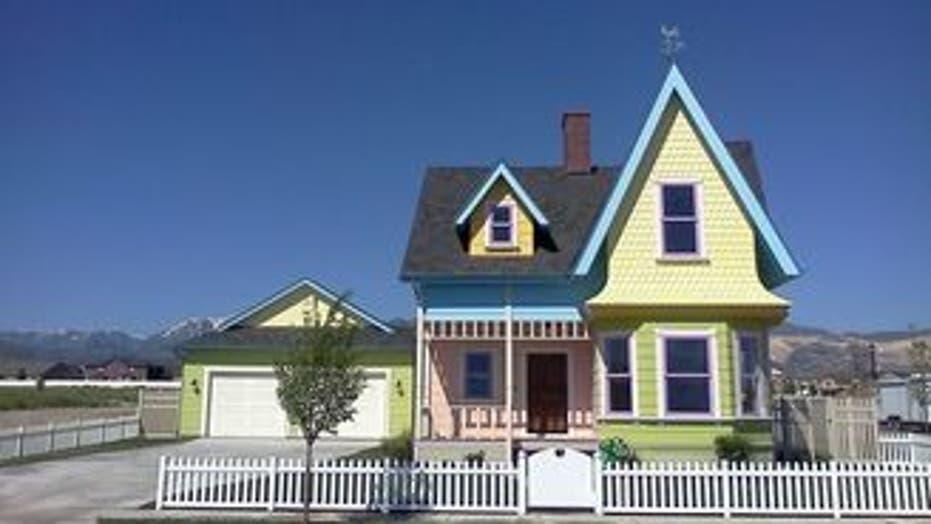 Cartoon House Comes to Life