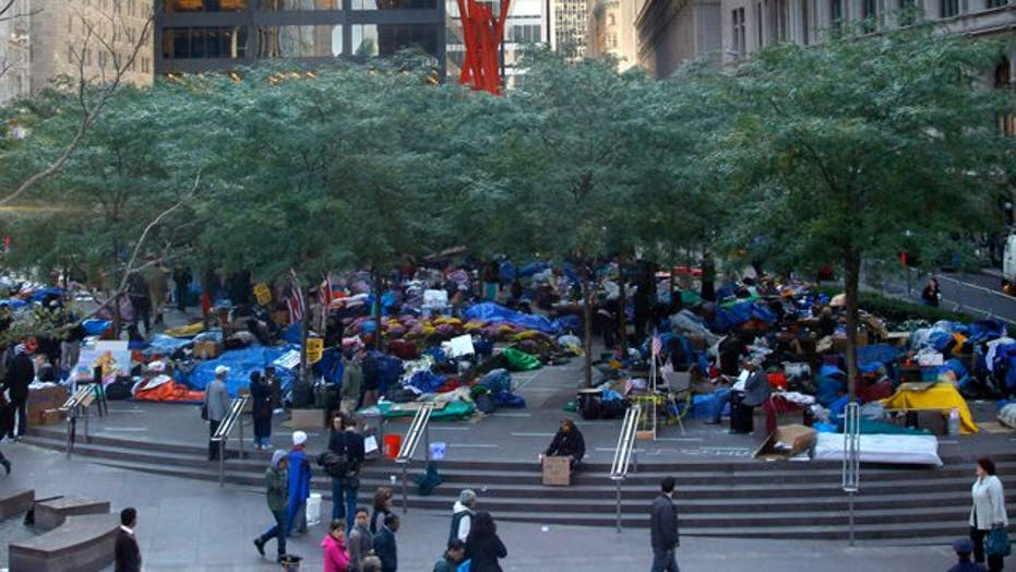 Occupy Wall Street Protest Continues in New York