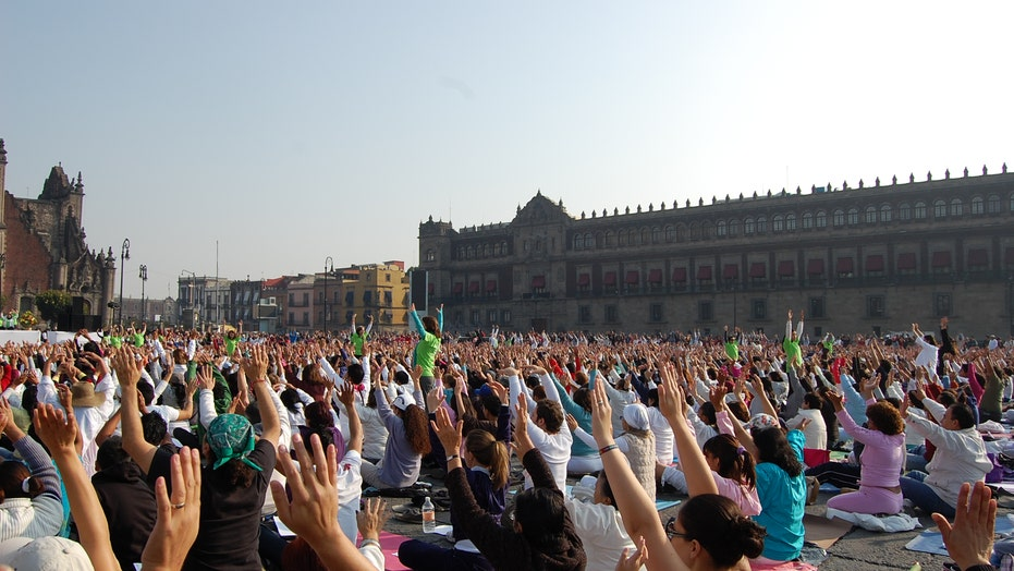 World's Largest Yoga Class?