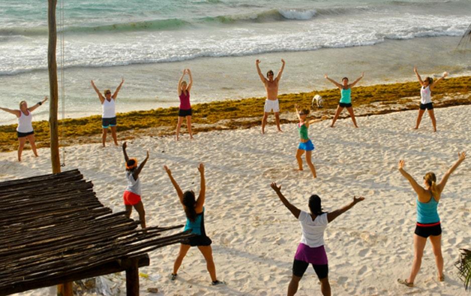 ButtFox News Kicks Bikini Bootcamp Serious HI9YW2ED
