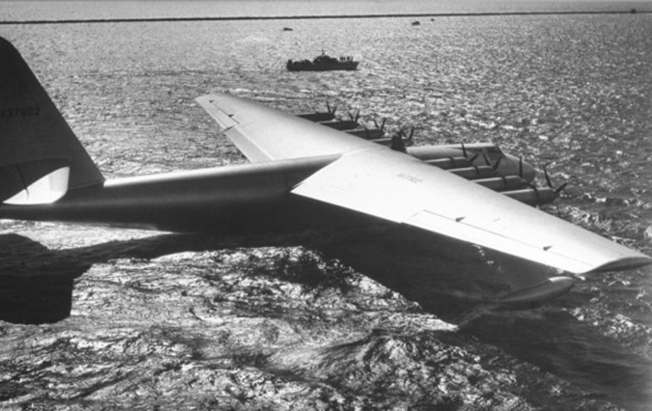 2a42e17e159d4 Larger than life  Howard Hughes and the Spruce Goose