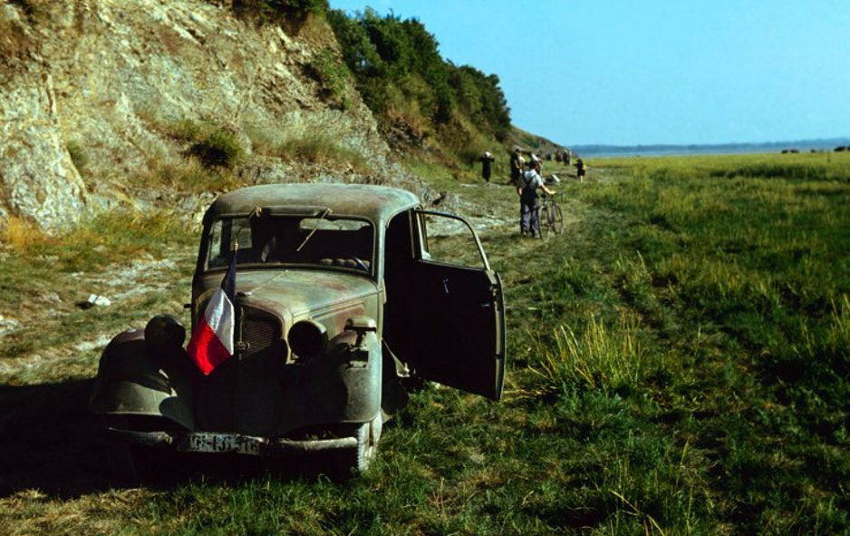 Before and after D-Day: Rare color photos | Fox News