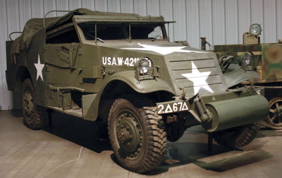 WW II vehicles battle for bids at auction | Fox News M A Scout Car Schematic Diagram on