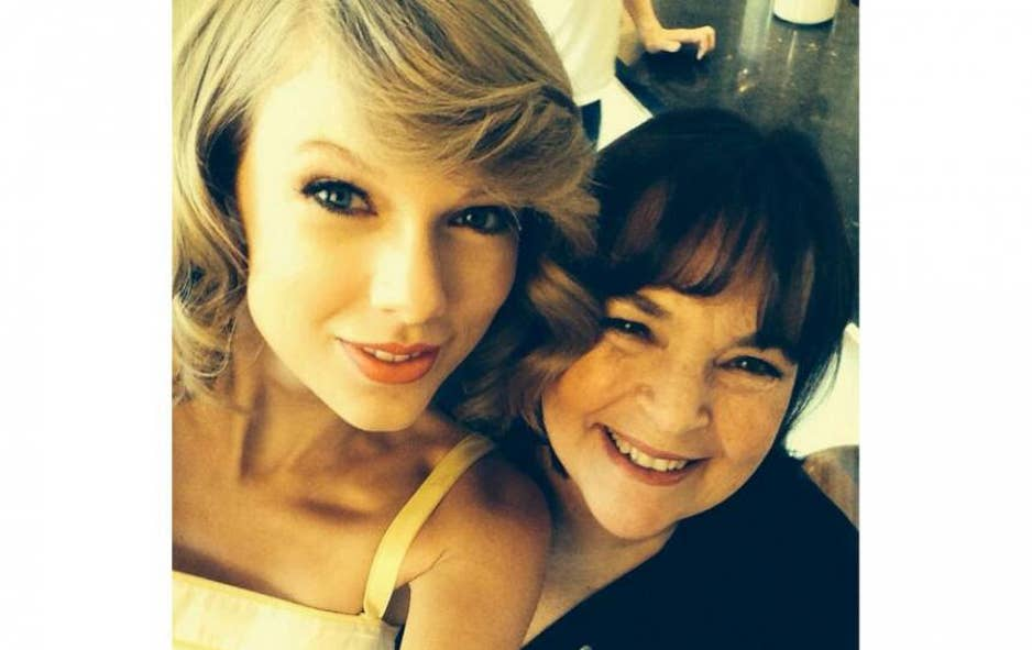Taylor Swift With Ina Garten