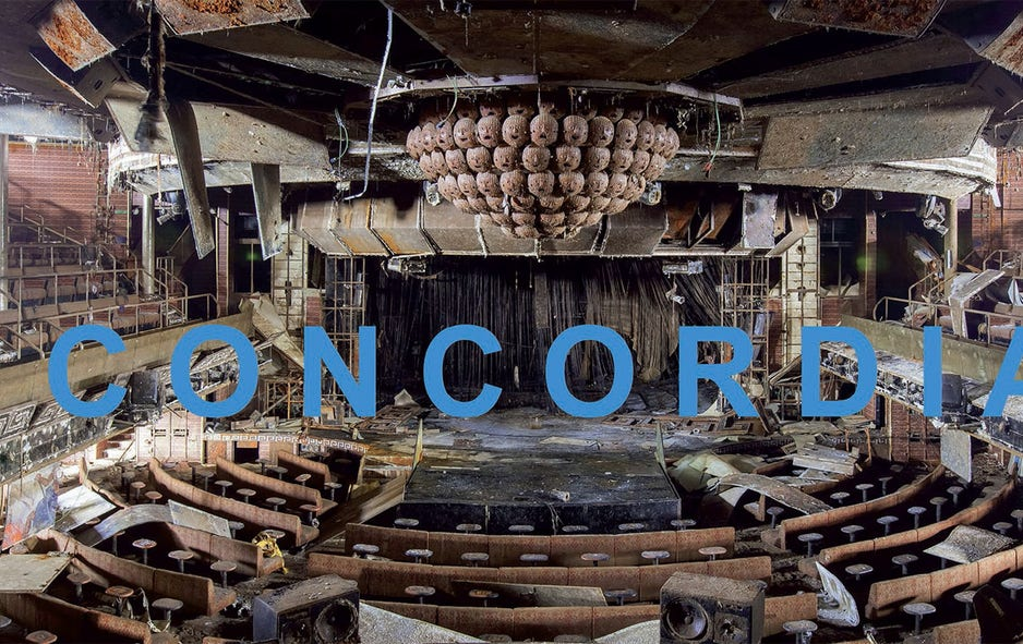 Photographer captures eerie remains of the Costa Concordia