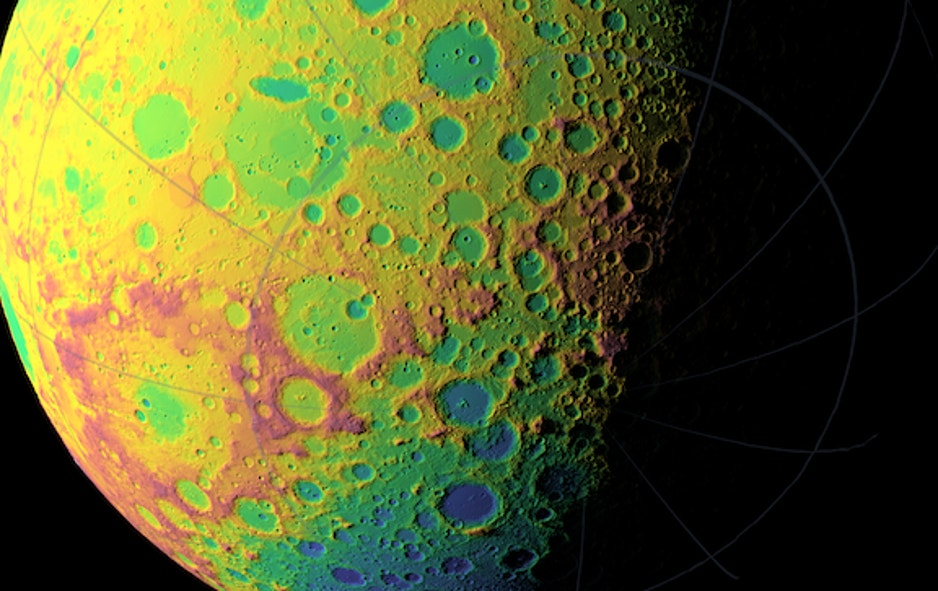 NASA Finishes First Map of Moon\'s Craters   Fox News