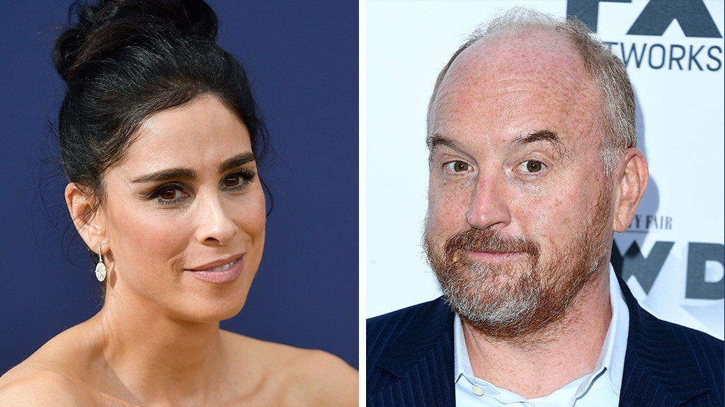 Sarah Silverman says Louis C.K. did lewd act in front of her with her consent