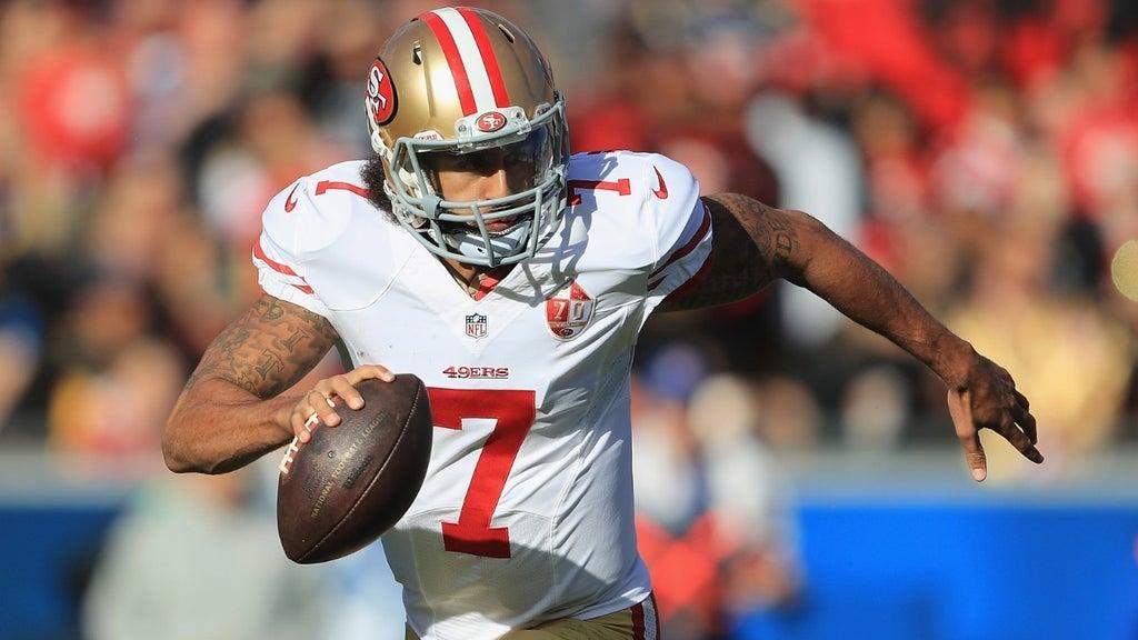 Kaepernick's agent working phones as NFL quarterbacks dropping