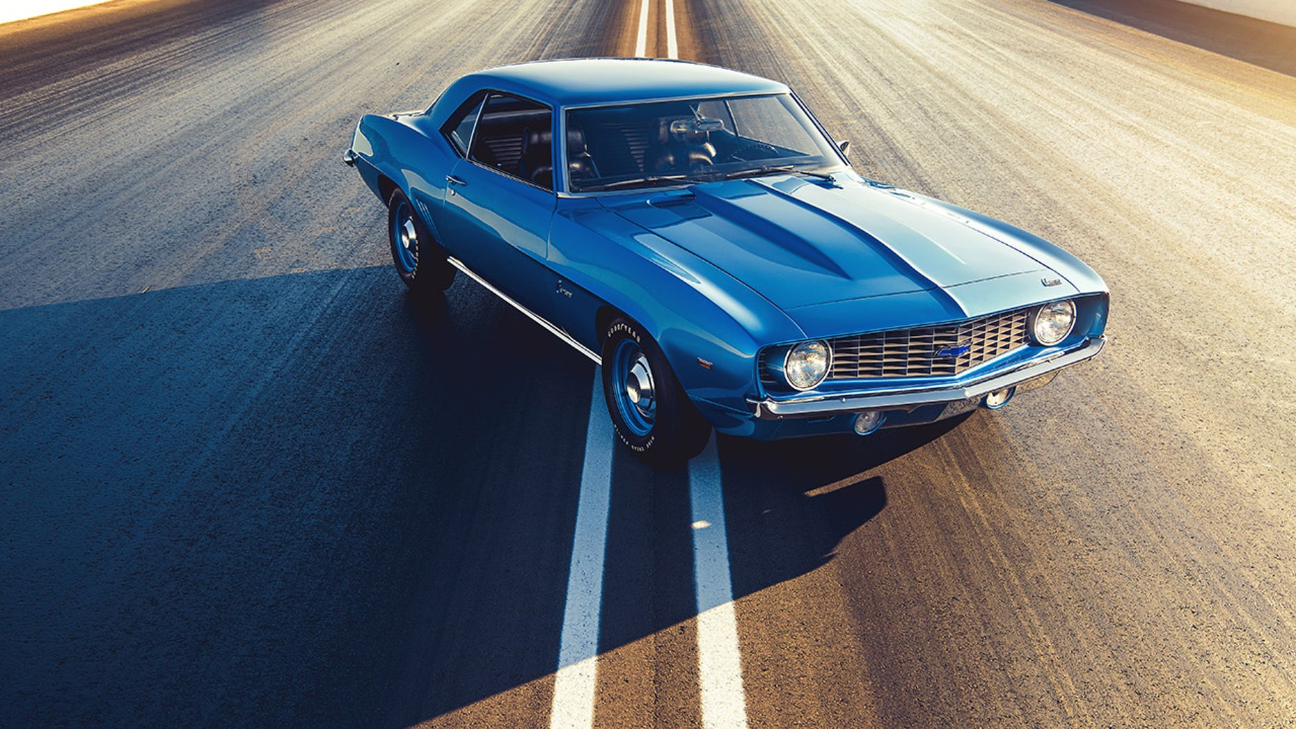The 1969 COPO Camaro was a special-order performer. Only 69 were built with the all-aluminum ZL1 427 Big Block engine.