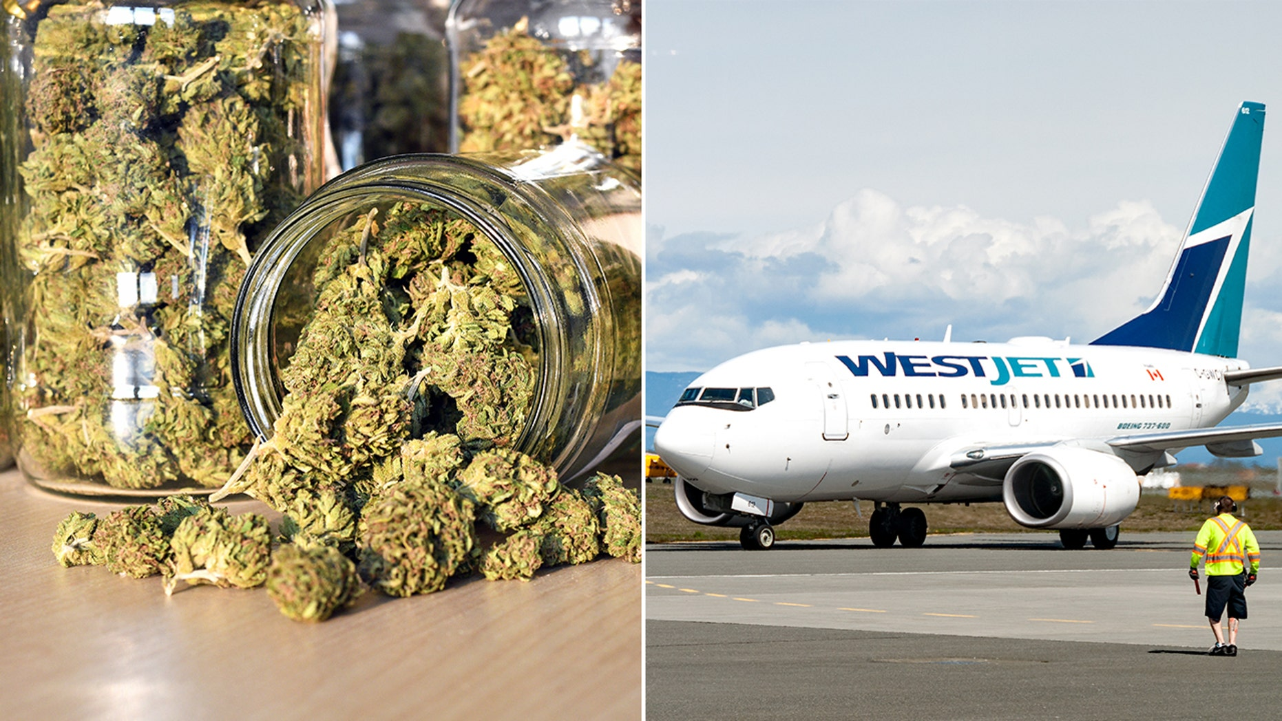 WestJet Bans Employees from Smoking Marijuana Ahead of Canada's National Legalization