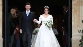 Princess Eugenie sports 'Mrs. Brooksbank' jacket following royal wedding