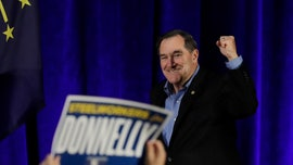 Senator Joe Donnelly nearly recreates a campaign ad from HBO's 'Veep'