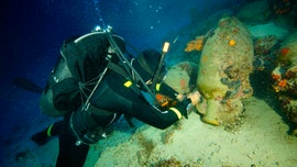 Ancient ship graveyard discovered in treacherous waters