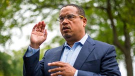 Ellison forced to fend off assault allegations in tense debate with GOP rival