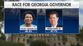 Georgia governor's race: State once solidly red state is now in play