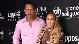 A-Rod's girlfriend Jennifer Lopez flaunts huge diamond while on a date night