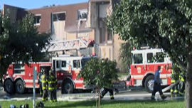 Baltimore gas explosion injures 9, including 7 firefighters
