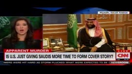 CNN on-screen graphic asks if US is 'giving Saudis more time to form cover story' on Jamal Khashoggi's apparent murder